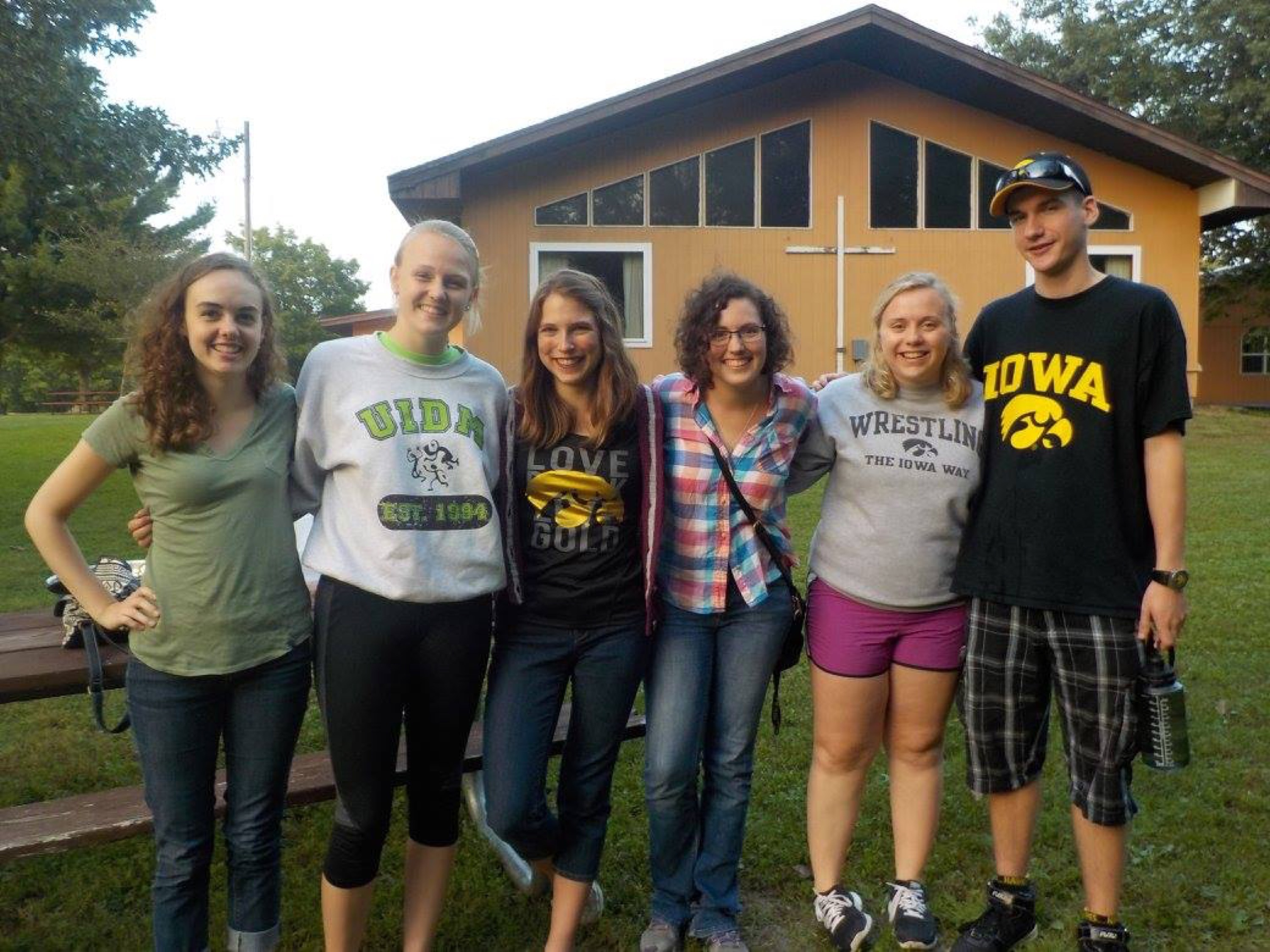 Students at Camp
