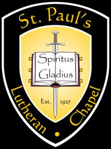 St. Paul's Lutheran Chapel Logo
