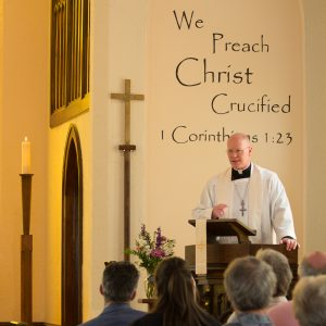 Pastor Mons Preaching